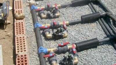 Instalacion sistema de riego